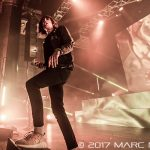 Bring Me The Horizon performing on The American Nightmare Tour at the Masonic Temple in Detroit, MI on March 14th 2017 Photo by Marc Nader