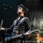 Green Day performing on their Revolution Radio Tour at Joe Louis Arena in Detroit, MI on March 27th 2017 Photo by Marc Nader