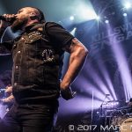 Killswitch Engage performing on the Killthraz Tour at The Fillmore in Detroit, MI on April 8th 2017 photo by Marc Nader