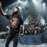 Anthrax performing on the Killthraz Tour at The Fillmore in Detroit, MI on April 8th 2017 photo by Marc Nader
