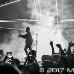 The Weeknd performing on the Starboy: Legend of the Fall World Tour at the Palace of Auburn Hills in Auburn Hills, MI on May 24th 2017 Photo by Marc Nader