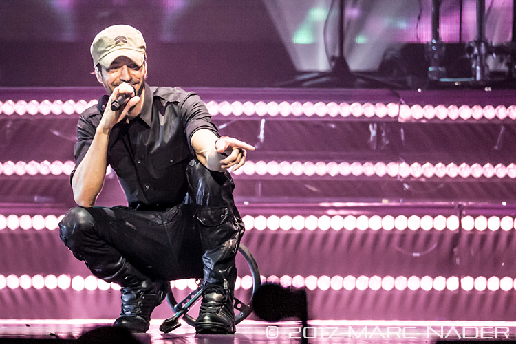 Enrique Iglesias performing on the Live World Tour w/ Pitbul at the Palace of Auburn Hills in Auburn Hills, MI on June 28th 2017 Photo by Marc Nader