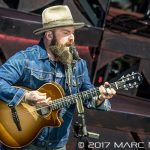 Zac Brown performing on their Welcome Home Tour at DTE Energy Music Theatre in Clarkston, MI on June 8th 2017 Photo by Marc Nader