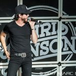 Chris Janson performing on Sam Hunt's 15 IN A 30 Tour at DTE Energy Music Theatre in Clarkston, MI on June 16th 2017 Photo by Marc Nader