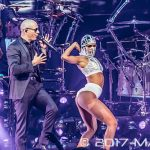 Pitbull performing on the Live World Tour with Enrique Iglesias at the Palace of Auburn Hills in Auburn Hills, MI on June 28th 2017 Photo by Marc Nader
