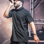 Sam Hunt performing on his 15 IN A 30 Tour at DTE Energy Music Theatre in Clarkston, MI on June 16th 2017 Photo by Marc Nader