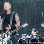 Metallica performing on their North America WorldWired Tour at Comerica Park in Detroit, MI on July 12th 2017 Photo by Marc Nader