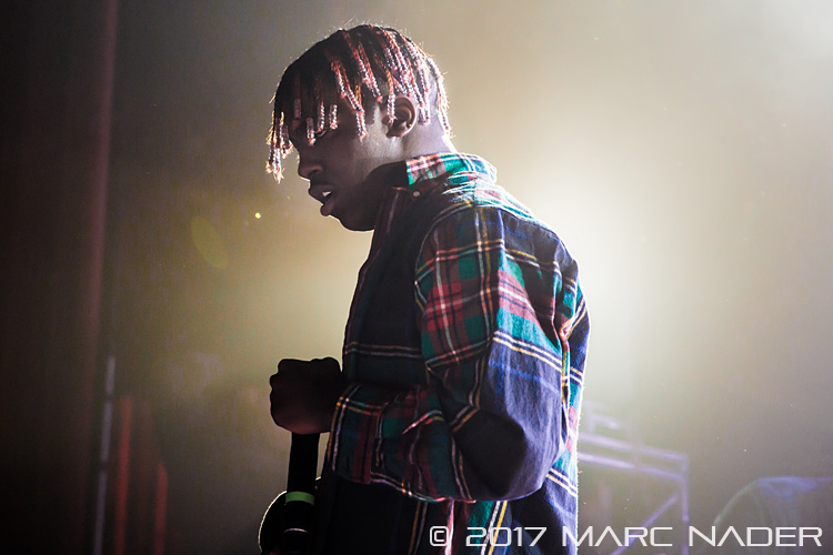 Lil Yachty performing on his Teenage Tour at the Royal Oak Music Theater in Royal Oak, MI on August 28th 2017 photo by Marc Nader