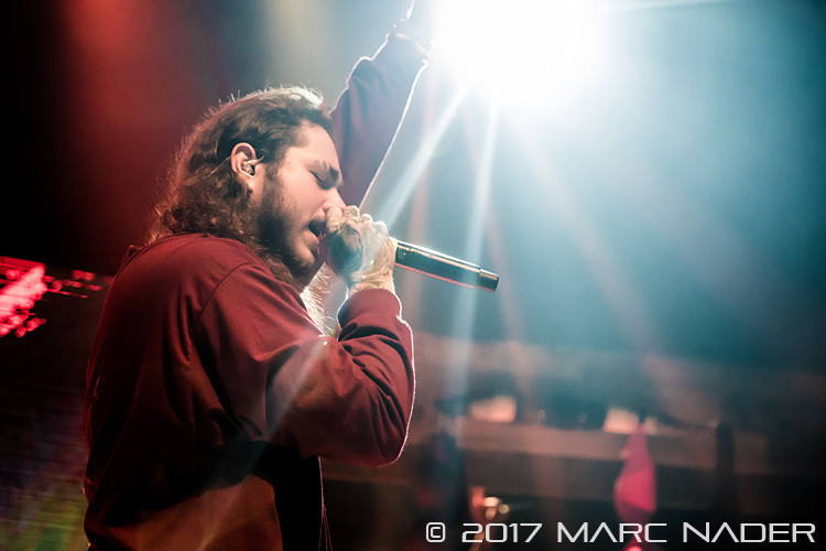 Post Malone's Stoney Tour at the Royal Oak Music Theatre
